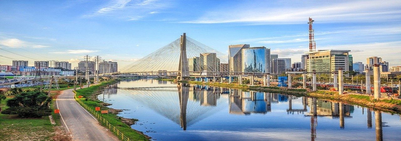 Octavio Frias de Oliveira Bridge in Sao Paulo Brazil South America; Shutterstock ID 302487110; PO: 123